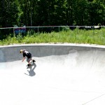 Chip Hawthorne skate/bowl action